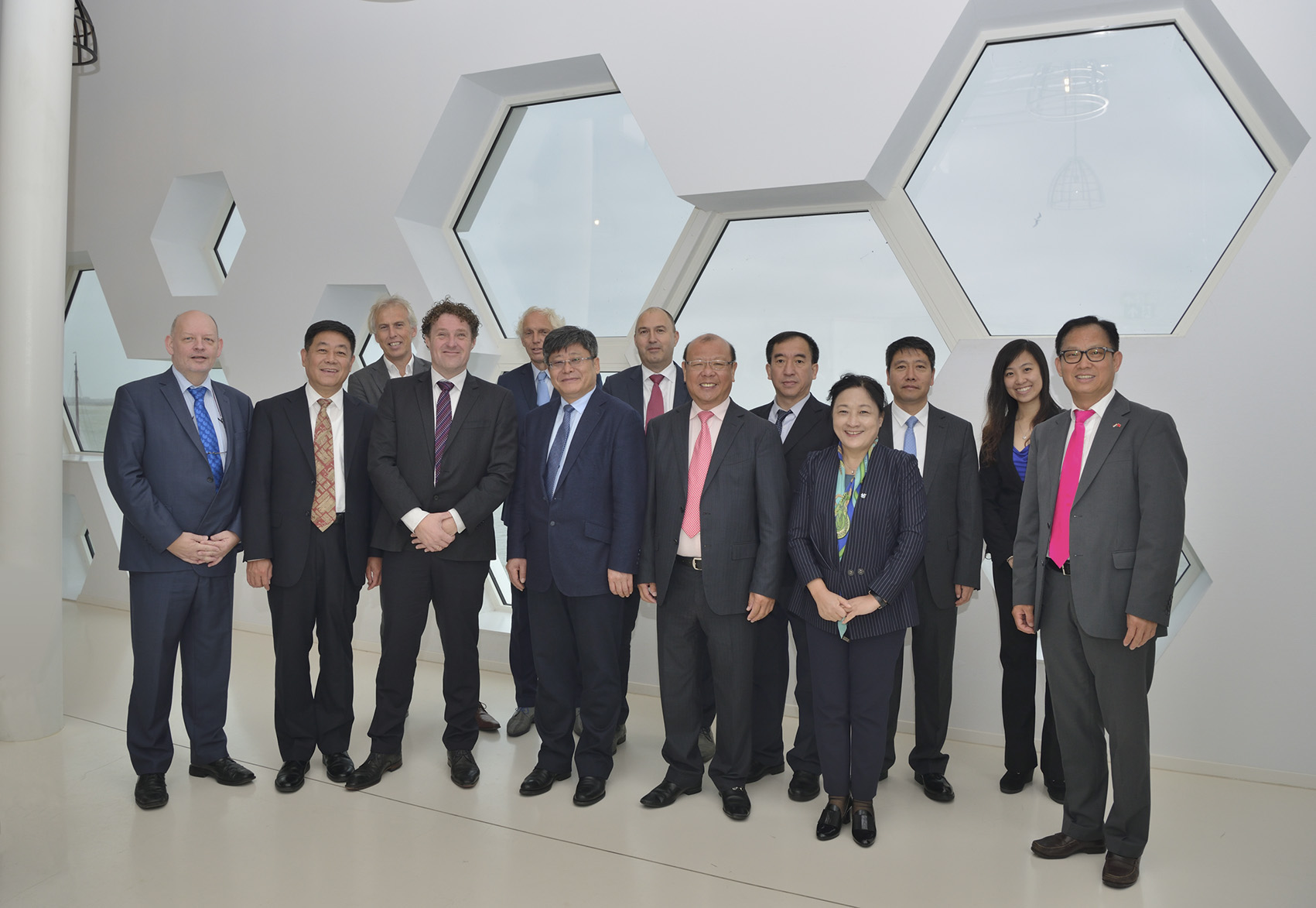 Frisian trade mission to China, June 2019